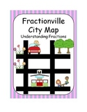 Fractionville City Map- Understanding Fractions