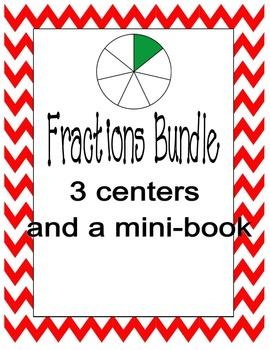 Fractions Bundle ( 3 games and a mini-book)