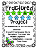 Fractured Fairy Tale Writing- Lesson on Perspective w/organizers, rubric, more