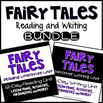 Fairy Tales Unit {24 Integrated Reading & Writing Plans, Activities, and More!}