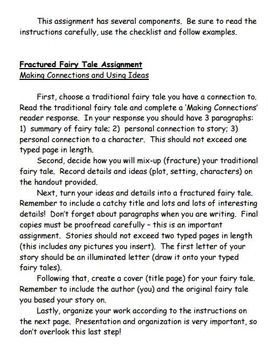 I have an assignment in English to write a short story. I