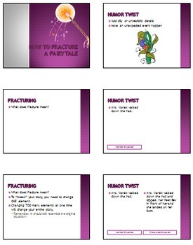 Fractured Fairy Tales - COMPLETE UNIT with rubrics, handouts and powerpoints