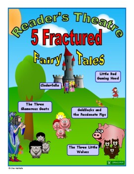 Fractured Fairy Tales - Reader's Theatre (Volume 1)