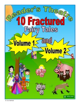 Fractured Fairy Tales - Reader's Theatre (Volumes 1 & 2)