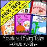 Fractured Fairy Tale Readers Theater Scripts, Writing & Unit Activities Grd. 3-6