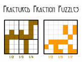 Fractured Fraction Puzzles (equivalent fractions)