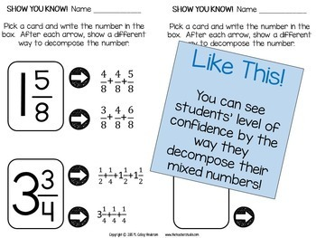 Fractured Fractions: Puzzles for Adding and Subtracting Mixed Numbers