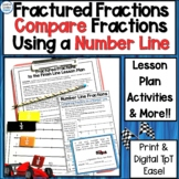 Fractured Fractions - Comparing Fractions on a Number Line