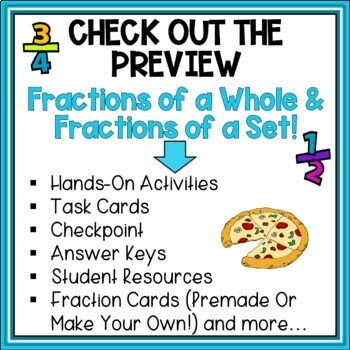 Fractured Fractions - Intro to Fractions - Set A