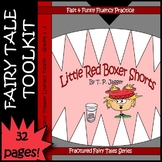 Little Red Riding Hood Fractured Fairy Tale Readers Theater Script Grade 3 4 5 6