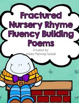Fractured Nursery Rhymes (Fluency Building Poems)