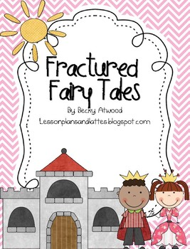 Fracutred Fairy Tale Writing Kit