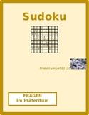 Fragen im Prateritum German verb Sudoku