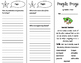 Fragile Frogs Trifold - ReadyGen 2016 4th Grade Unit 1 Module A