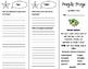 Fragile Frogs Trifold - ReadyGen 4th Grade Unit 1 Module A
