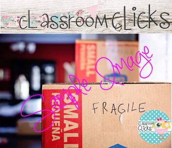 Fragile Moving Boxes Image_267:Hi Res Images for Bloggers & Teacherpreneurs