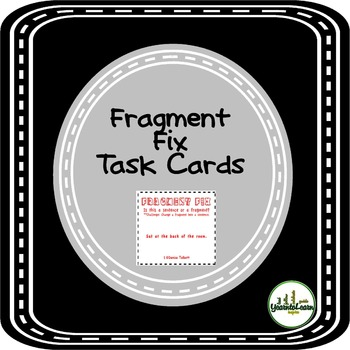 Fragments Task Cards