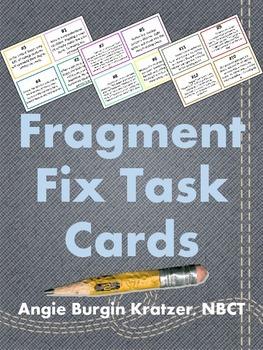 Fragment Fix Task Cards