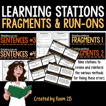 Fragments & Run-ons Learning Stations