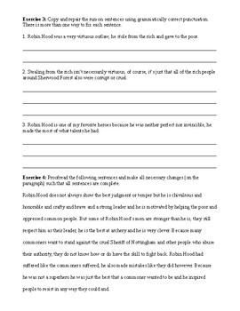 Fragment Worksheet