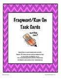 Fragment Run-On Task Cards