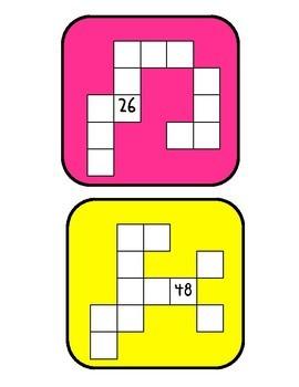Fragmented Hundreds Chart