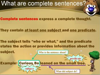 Fragments, Run-on Sentences, and Complete Sentences Powerpoint