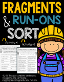 Fragments and Run-Ons L.4.1.F