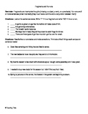 Fragments and Run-Ons Notes and Activity