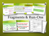 Fragments and Run-ons: Video, PowerPoint, Notes, and Quizzes