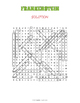 Mary Shelley's Frankenstein Word Search