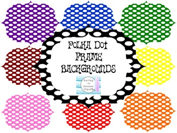 Frame Backgrounds: Polka Dots