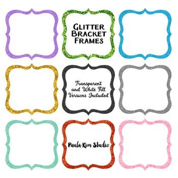 Frame Clip Art - Glitter