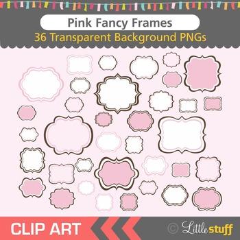 Frame Clipart, Pink Frames Clip Art