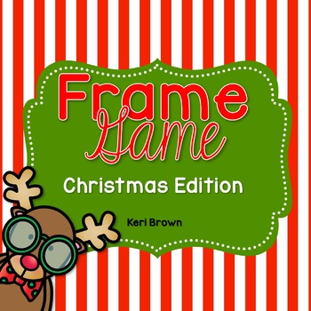 Frame Game Christmas Edition