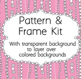 Frame and Pattern Kit Decorative Lines - Create Your Own C