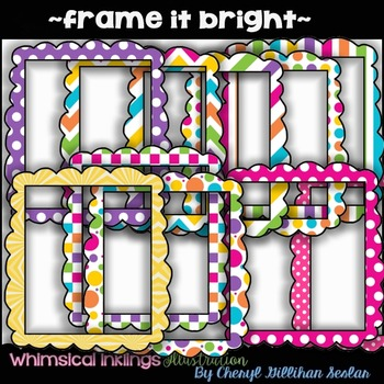 Frame it Bright ~COMMERCIAL USE~