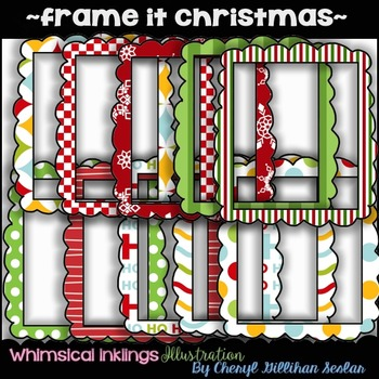 Frame it Christmas ~COMMERCIAL USE~