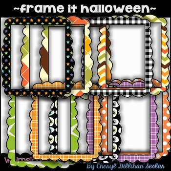 Frame it Halloween ~COMMERCIAL USE~