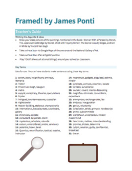 Framed! Book Packet