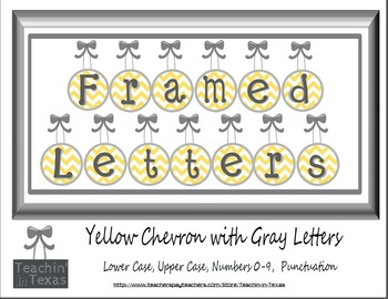 Framed Letters for Personal and Commercial Use