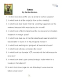 Framed by Gordon Korman, Battle of the Books Questions