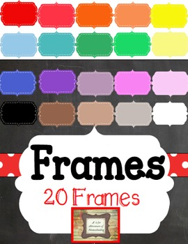 Frames- Personal & Commercial Use