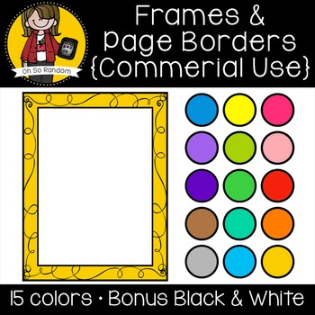 Frames 2 {Clip Art for CU}