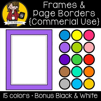 Frames 3 {Clip Art for CU}