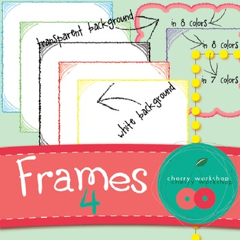 Frames 4 - Furry, Dots, and Picture Corners designs