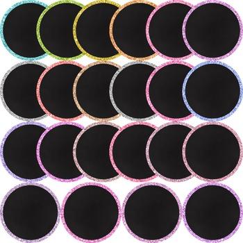 Clip Art: Frames - 45 Glitter Circle Frames
