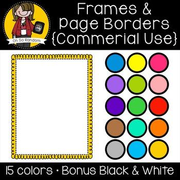 Frames 6 {Clip Art for CU}