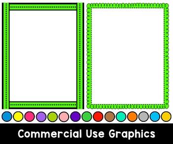 Frames BUNDLE {Clip Art for CU}