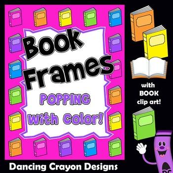Frames - Book Borders Clip Art